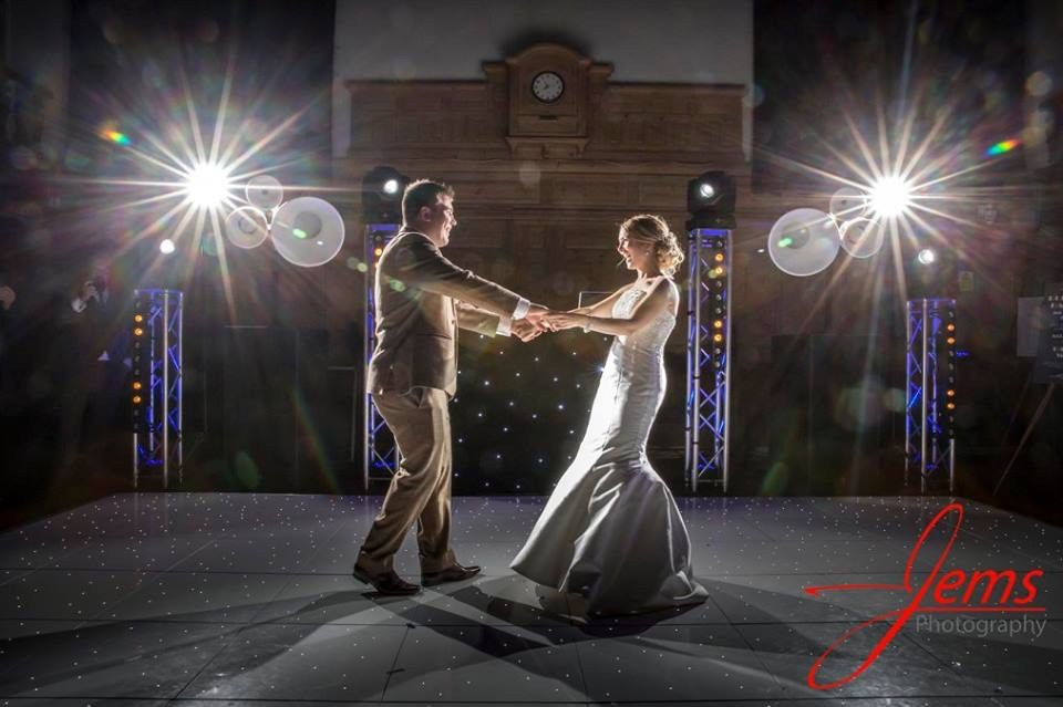 Wedding Entertainment LED Dancefloor Hire